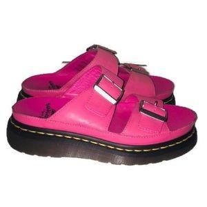 Dr. Martens Cyprus Pink Sandal Shoes Size 5